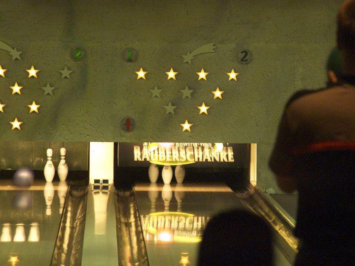 Bowling in der Räuberschänke